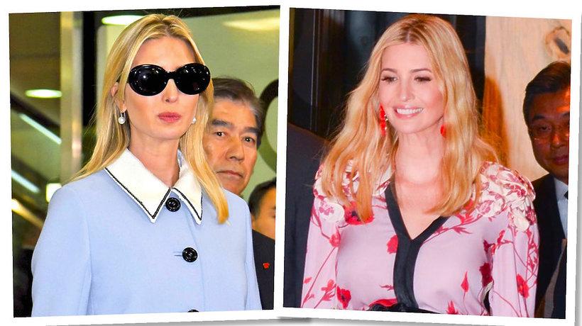 stylizacje Ivanki Trump podczas jej wizyty w Japonii