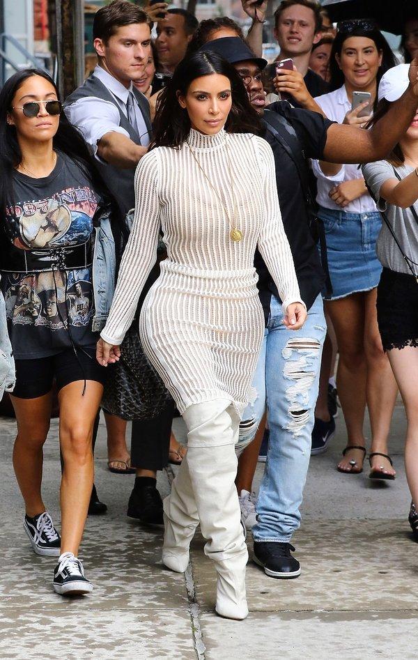 Stylizacje Kim Kardashian