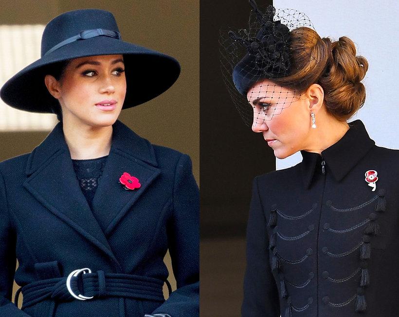 Stylizacje księżna Meghan Kate 2019