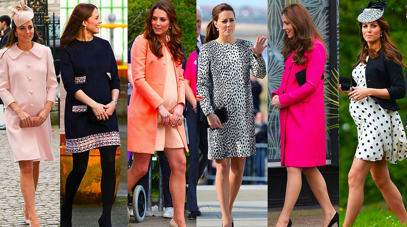 Stylizacje księżnej Kate w ciąży - MAIN TOPIC