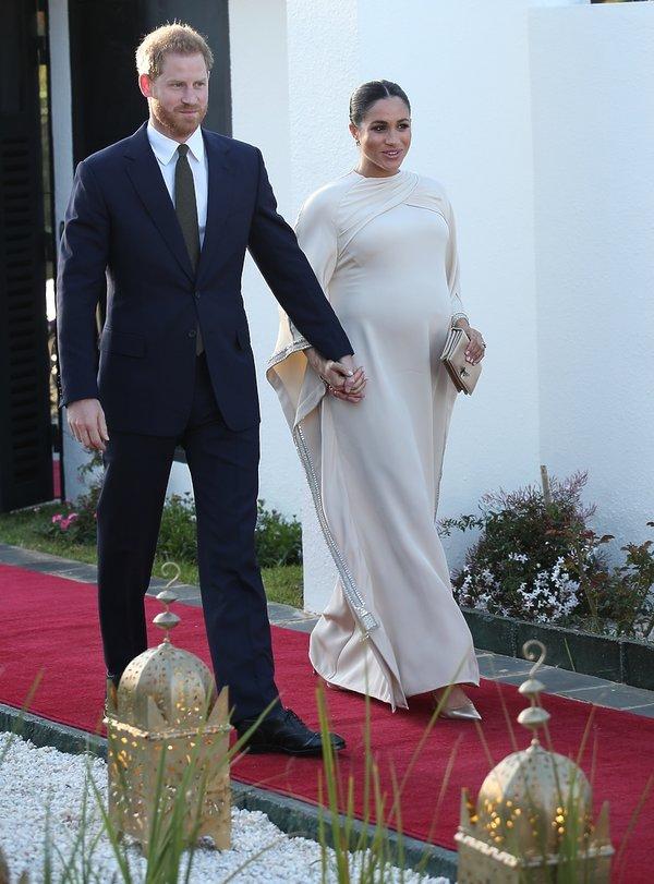 Stylizacje księżnej Meghan w Maroku