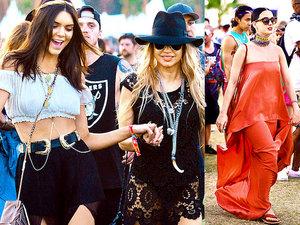 Stylizacje na festiwalu Coachella