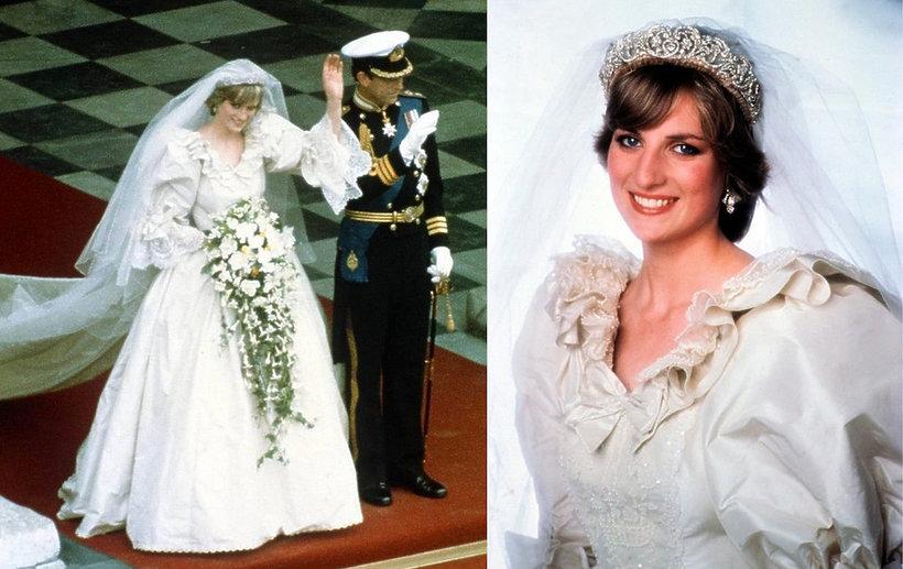 suknia ślubna księżnej Diany