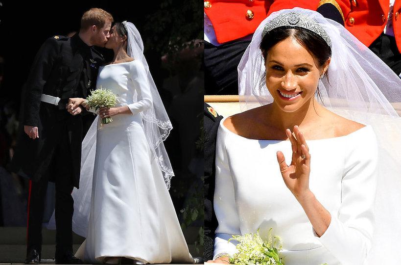 suknia ślubna księżnej Meghan