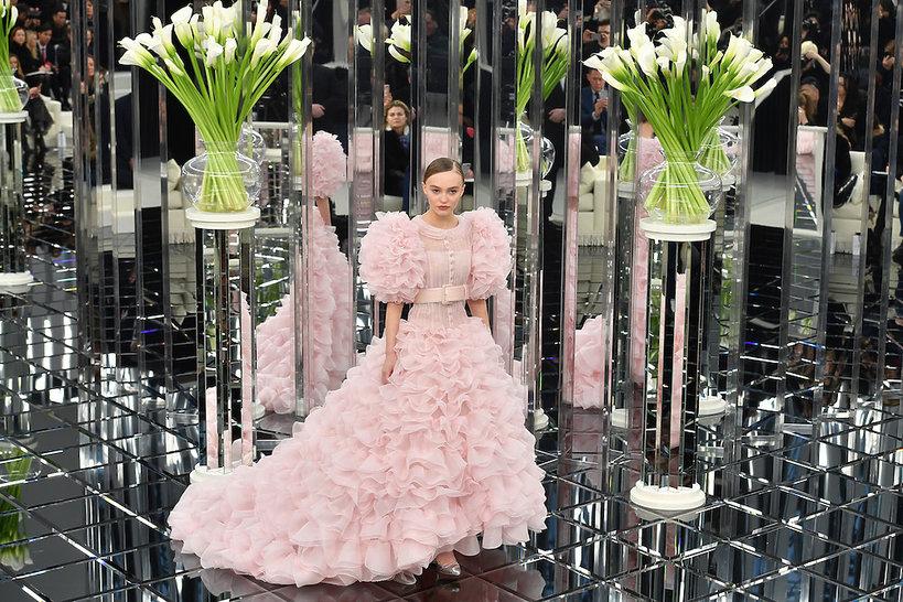 Najpiękniejsze Suknie ślubne Chanel Haute Couture Vivapl