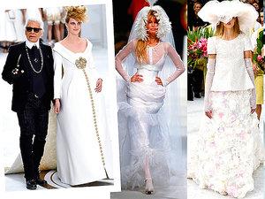 Suknia ślubna z pokazu haute couture chanel