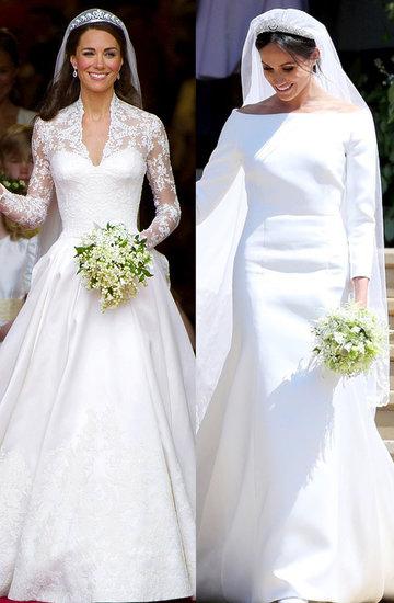 suknie ślubne księżnej Diany, księżnej Kate  księżnej Meghan