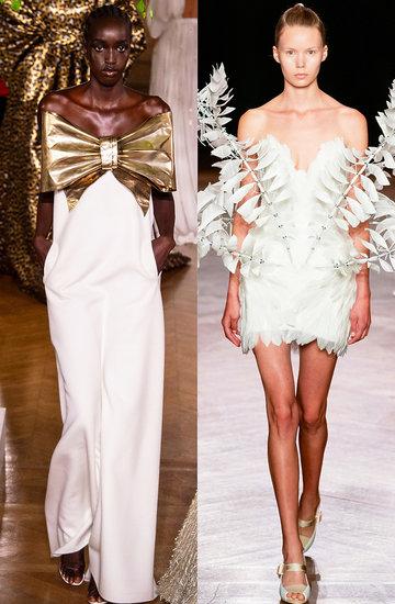 suknie ślubne pokazy haute couture na jesień 2019 zimę 2020
