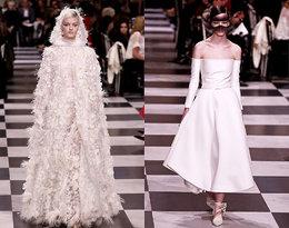 Ile kosztują najpiękniejsze suknie ślubne z pokazów haute couture?