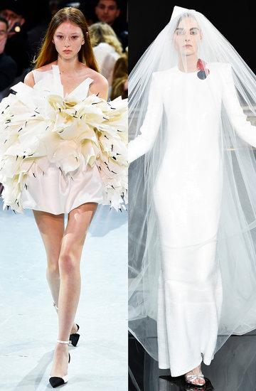 Suknie ślubne z pokazów haute couture na wiosnę 2019