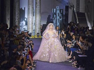 Suknie ślubne z pokazu haute couture jesień 2016 Elie Saab