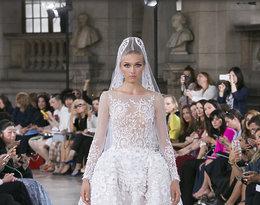 Suknie ślubne z pokazu haute couture jesień 2016 Georges Hobeika