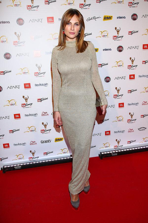 Sylwia Gliwa na gali Telekamery 2017