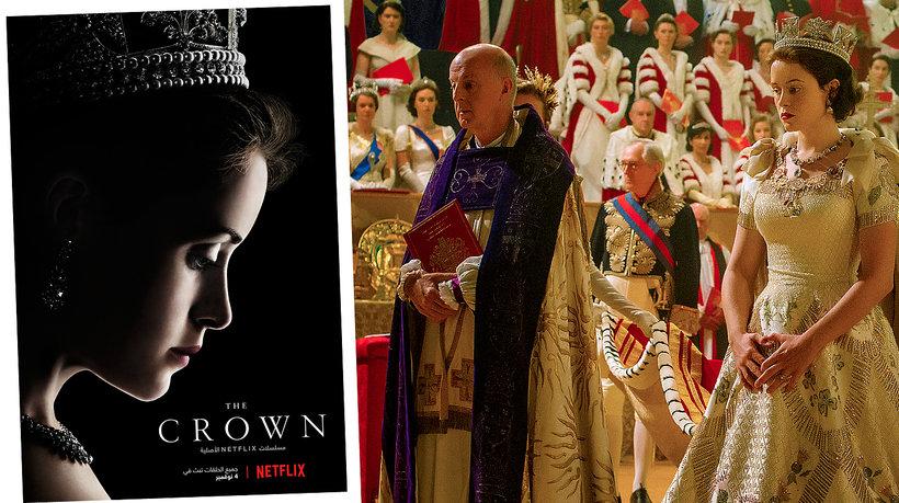 The Crown costume w serialu