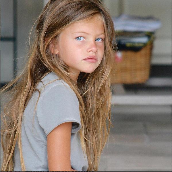 """Thylane Blondeau """"najpiękniejsza dziewczynka świata"""""""