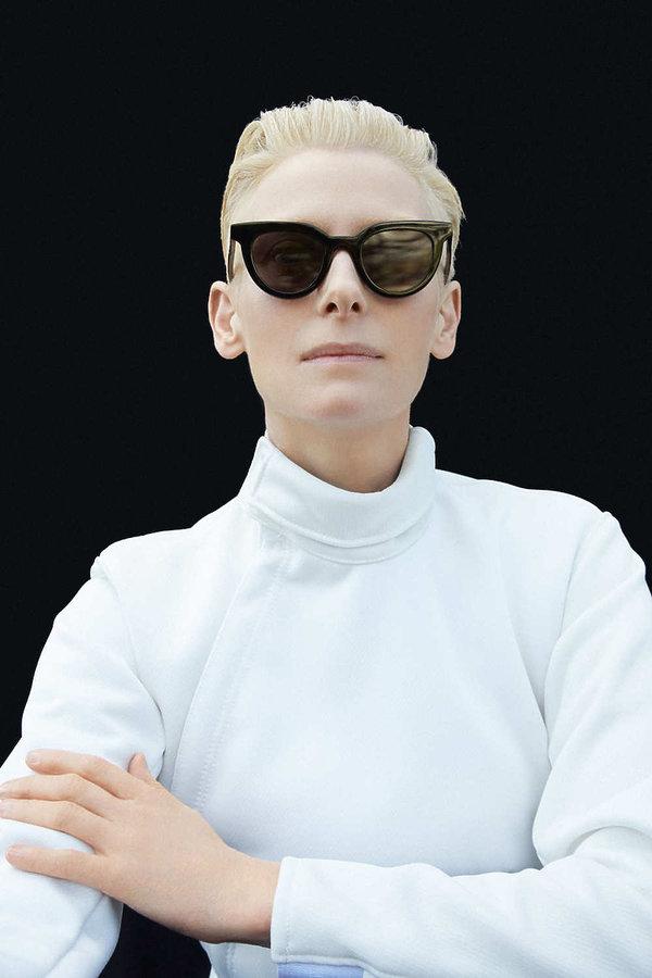 Tilda Swinton zaprojektowała kolekcję okularów dla koreańskiej marki Gentle Monster