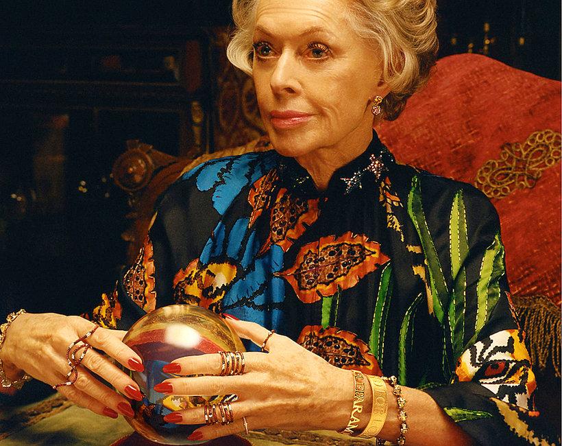 Tippi Hedren w reklamie  Gucci