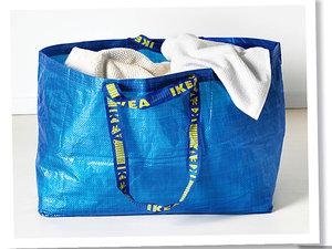 Torba domu mody Balenciaga przypomina torbę Ikea