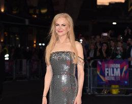 trend na czerwonym dywanie, błyszczące kreacje, Nicole Kidman