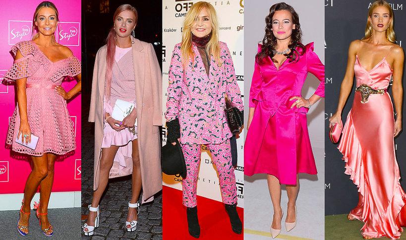 Trend różowy kolor