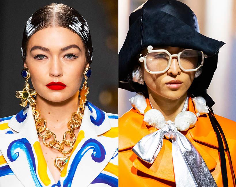 Trendy 2020 biżuteria na wiosnę 2020