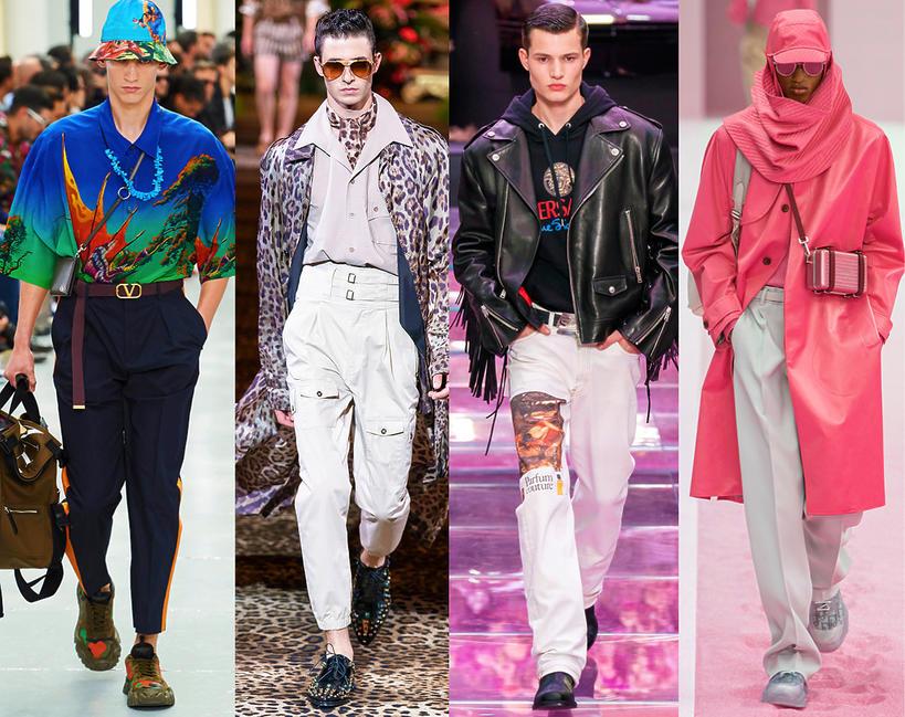Trendy moda męska na wiosnę 2020