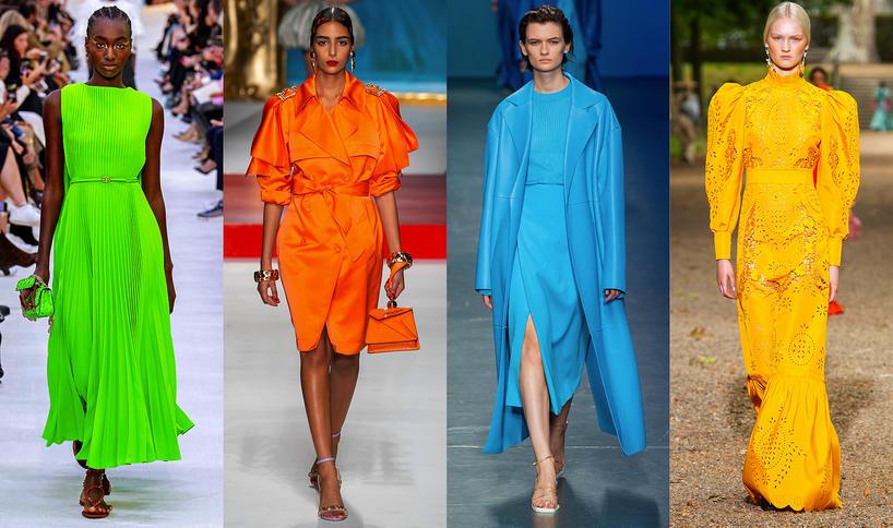 Trendy na wiosnę 2020 neonowe kolory