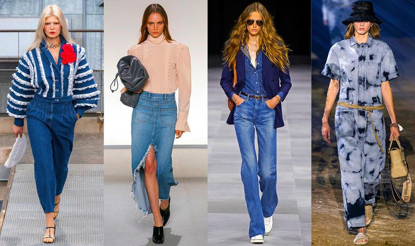 Trendy na wiosnę 2020 dżins