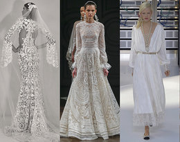 Trendy w modzie ślubnej na 2017 rok