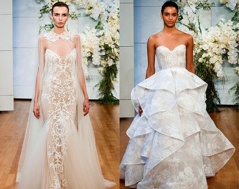 Trendy w modzie ślubnej  na 2018 rok
