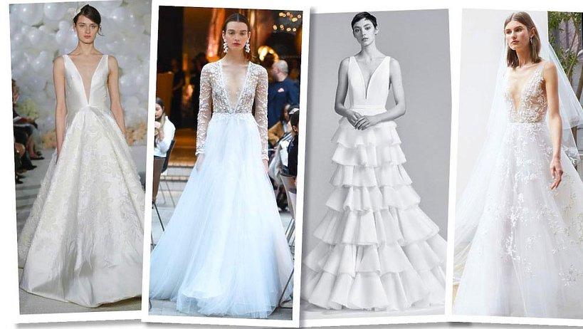 Trendy w modzie ślubnej na sezon wiosna i lato 2018