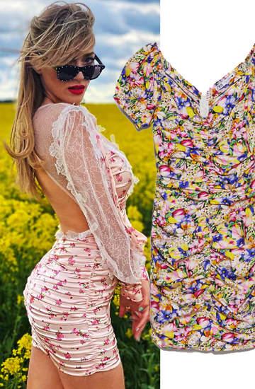sukienka-w-kwiaty-za-kolano-weronika-ksiazkiewicz