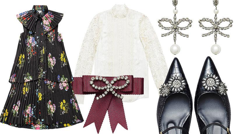 Ubrania damskie z kolekcji Erdem x H&M