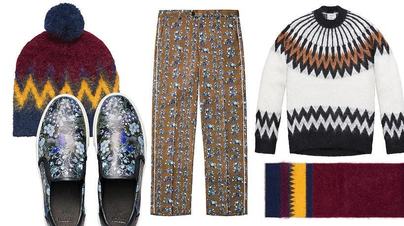 Ubrania męskie z kolekcji Erdem x H&M