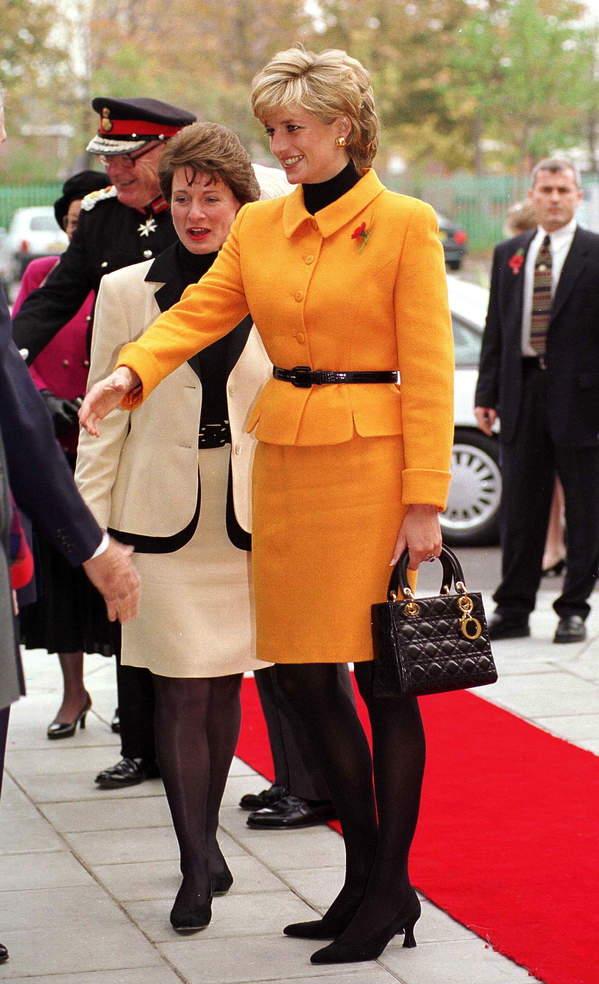 Ulubiona torebka księżnej Diany Lady Dior