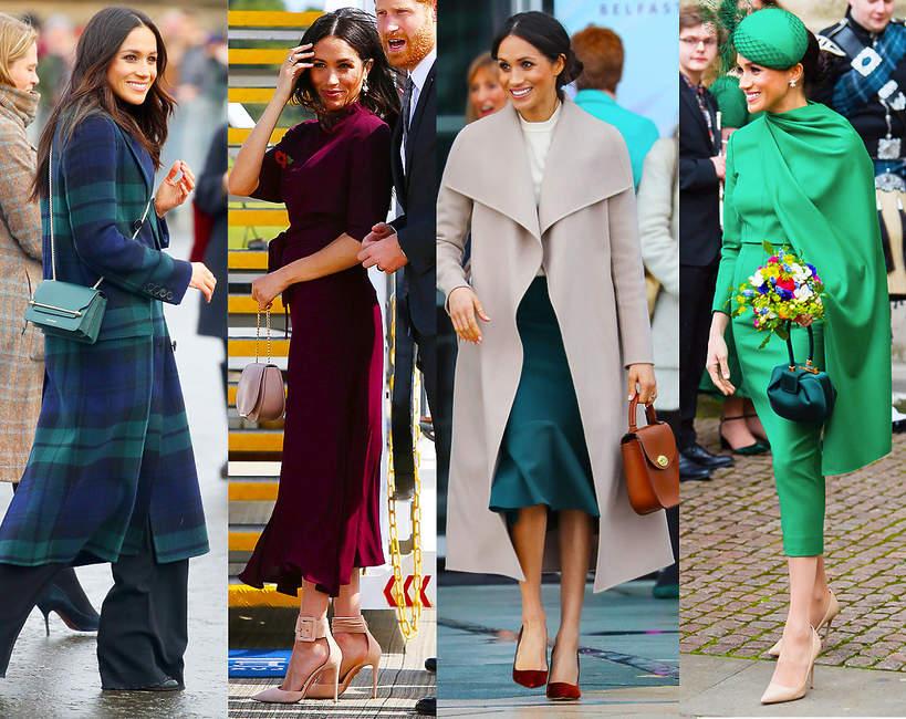 Ulubione marki torebki Księżnej Meghan Markle
