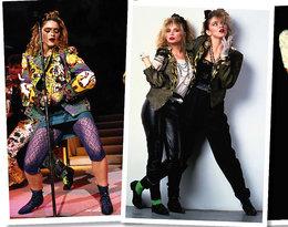 Urodziny Madonny stylizacje