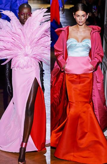Valentino pokaz haute couture wiosna 2020 trendy