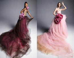 W najnowszej ślubnej kolekcji Very Wang nie ma białych sukien!