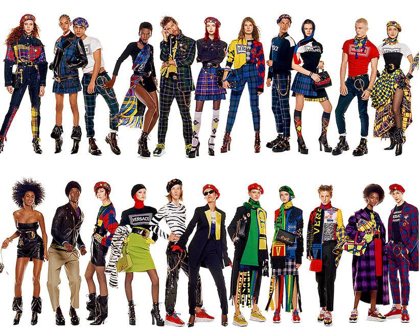 """Versace stworzyło """"najdłuższy plakat reklamowy świata"""""""