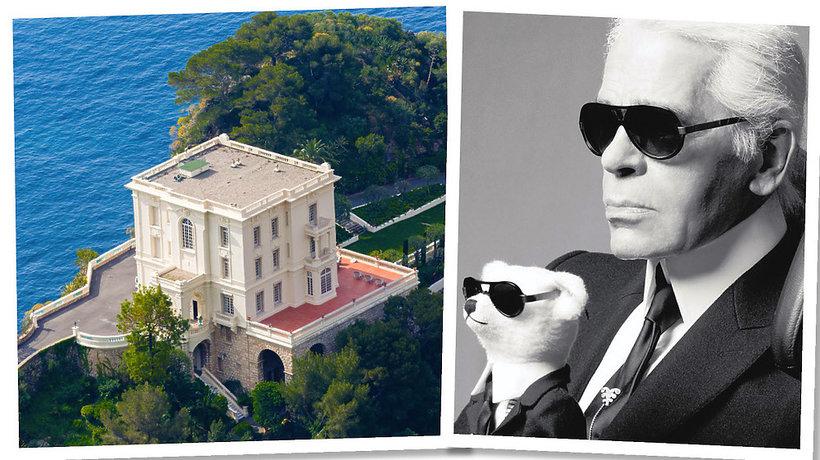 Willa Karla Lagerfelda w Monako