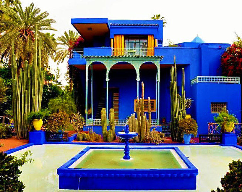 Willa Yves Saint Laurent, Marrakesz