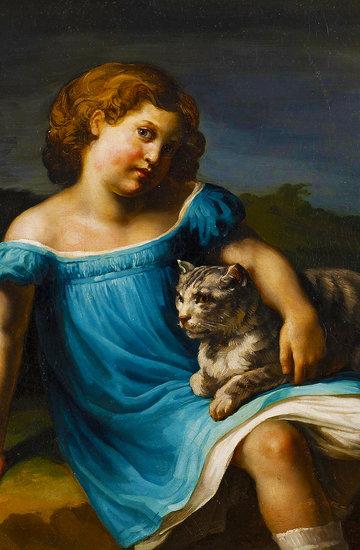 Wirtualna wystawa koty w historii sztuki
