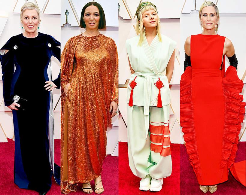 Wpadki najgorsze kreacje Oscary 2020