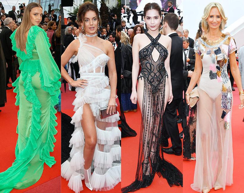 Wpadki najgorsze stylizacje z Festiwalu Filmowego w Cannes 2019