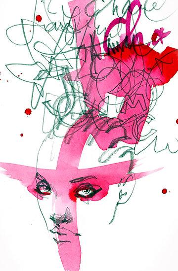Wystawa 36 prac ilustracji modowych Anny Halarewicz