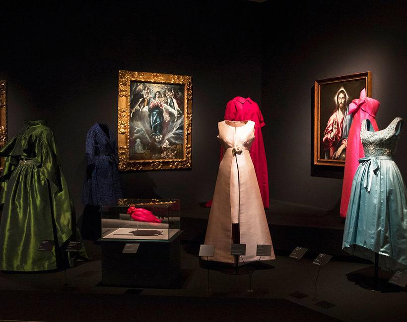 """Wystawa """"Balenciaga i malarstwo hiszpańskie"""" w Madrycie"""