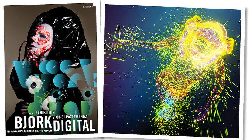 """Wystawa """"Björk Digital"""" w Poznaniu"""