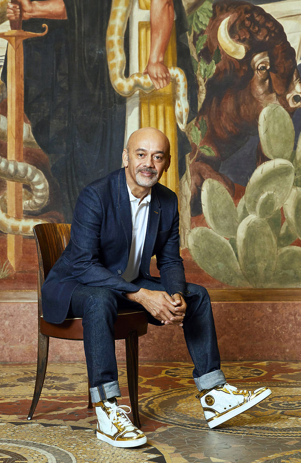 wystawa Christiana Louboutina w Paryżu w  2020 roku