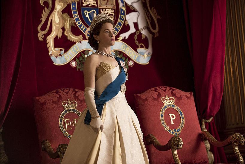 Wystawa kostiumów z serialu The Crown